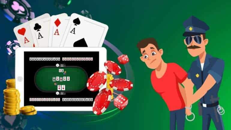 CIB Arrests 24 for Running a Virtual Gambling Racket in Taiwan