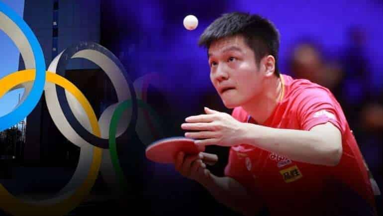 Tokyo Olympics Fan Zhendong Favorite to Win Mens Table Tennis