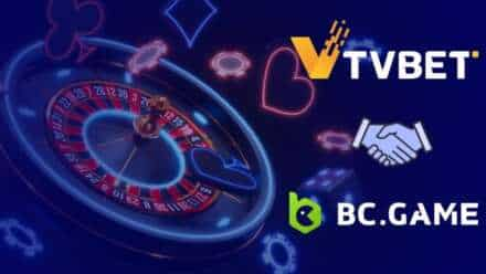 BC.Game's Crypto Casino Partners With TVBET